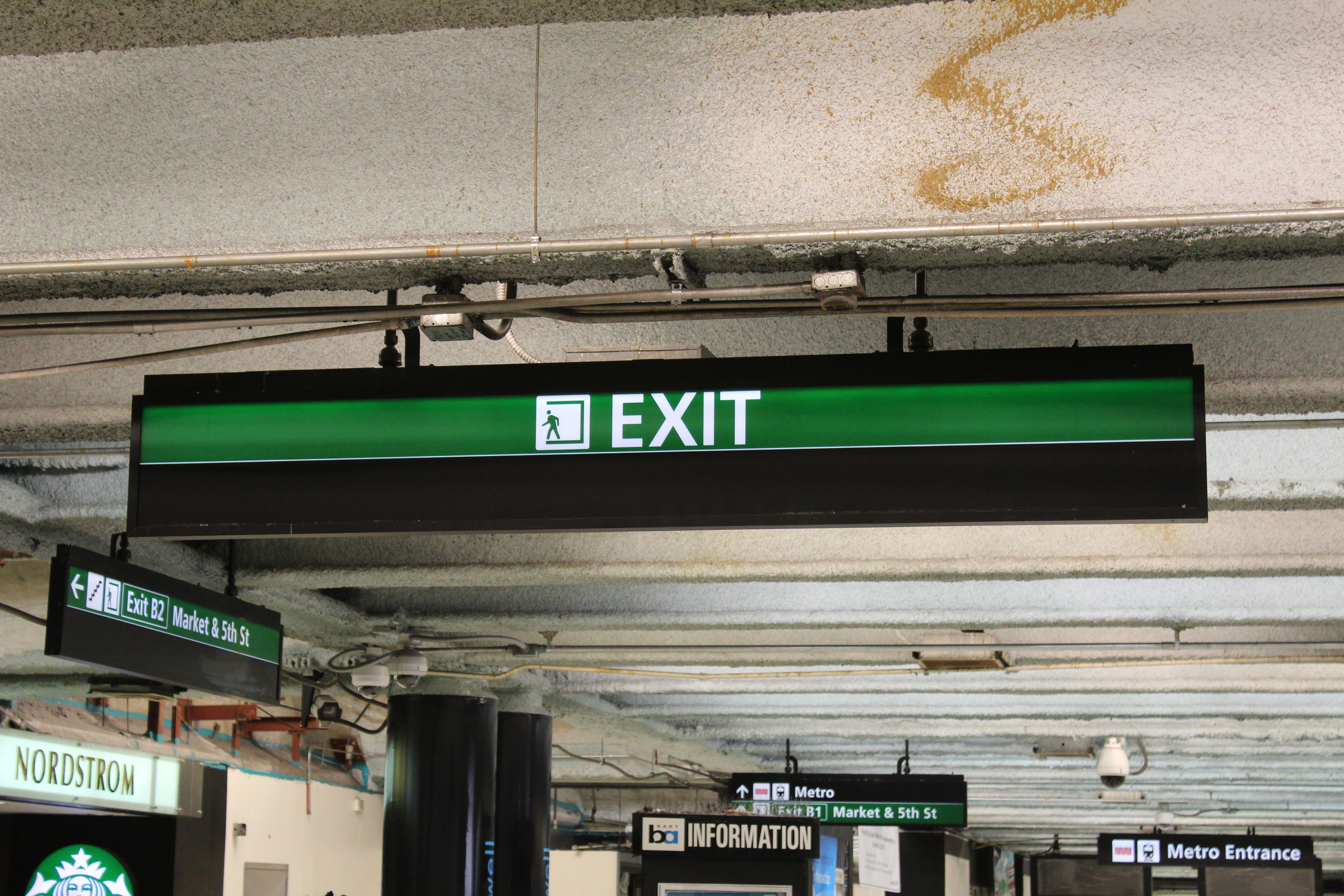 Enter Exit Signs By Liberty Signs Simpsonville