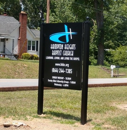 Post Amp Panel Signs By Liberty Signs Simpsonville