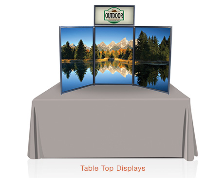 Table Top Displays By Liberty Signs Simpsonville