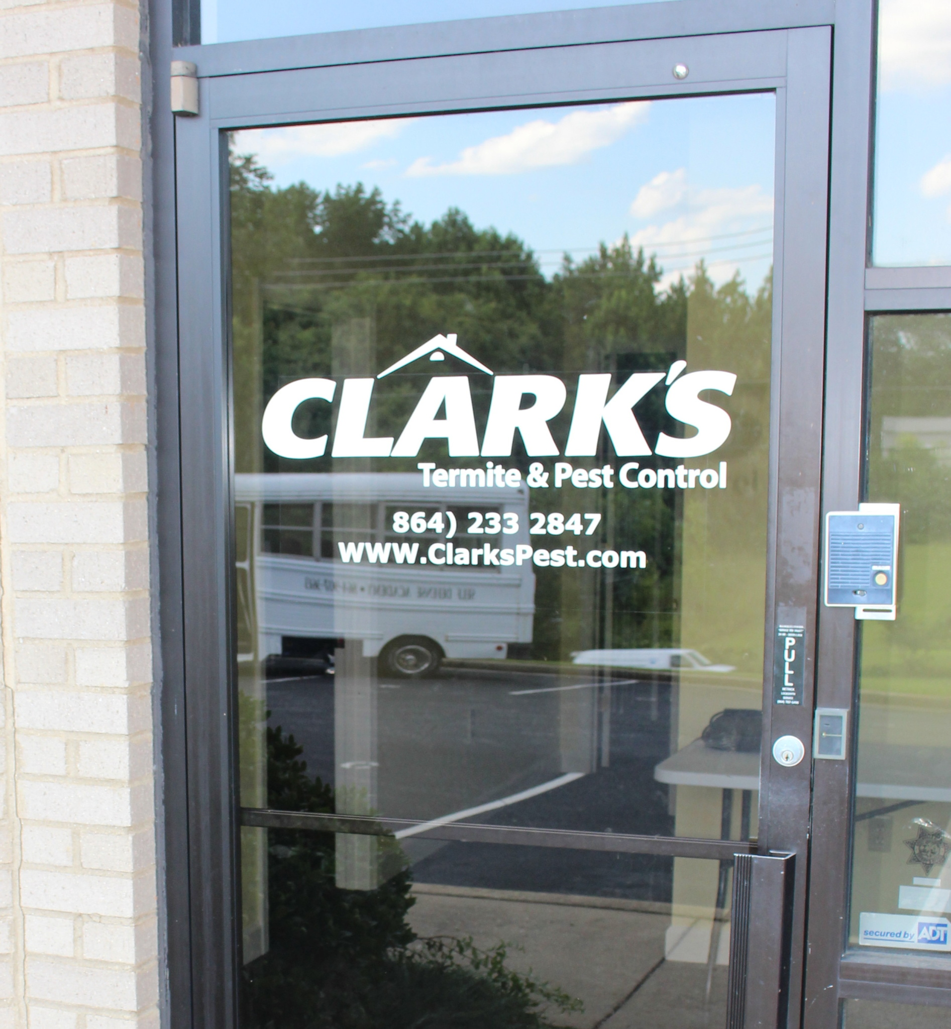 Window Graphics By Liberty Signs Simpsonville Fountain